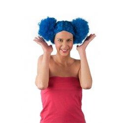 Αποκριάτικη Περούκα Μπέμπα, Μπλε