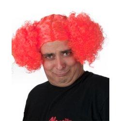Αποκριάτικη Περούκα Μπέμπα, Πορτοκαλί