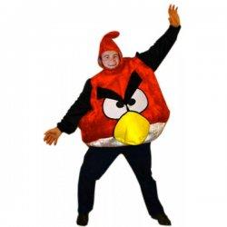 Αποκριάτικη Στολή Angry Bird Κόκκινο για ενήλικες