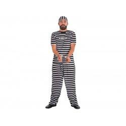 Αποκριάτικη Στολή Φυλακισμένος Άντρας