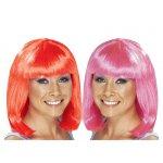 Αποκριάτικη Περούκα Καρέ (2 Χρώματα)