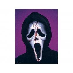 Αποκριάτικη Μάσκα Scream με Αίμα