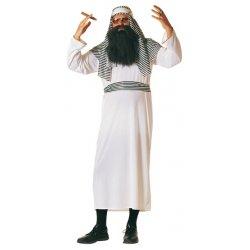 Αποκριάτικη Στολή Άραβας με Ριγέ Σαρίκι