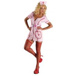 Αποκριάτικη Στολή Νοσοκόμα Ροζ