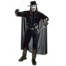 Αποκριάτικη Στολή Anonymous με σπαθιά
