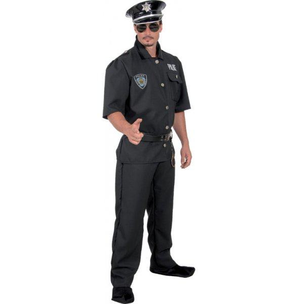 Αποκριάτικη Στολή Αστυνομικός με Έμβλημα