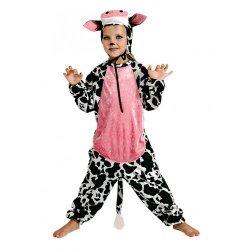 Αποκριάτικη Στολή Αγελάδα Ροζ