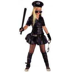 Αποκριάτικη Στολή Wild Police Girl Μαύρο
