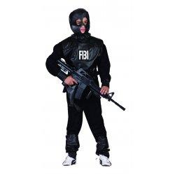 Αποκριάτικη Στολή FBI Αντιτρομοκρατης