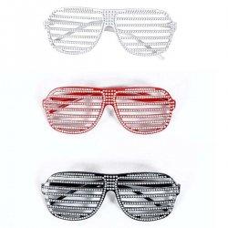 Αποκριάτικο Αξεσουάρ Γυαλιά Με Στρας - 3 Χρώματα