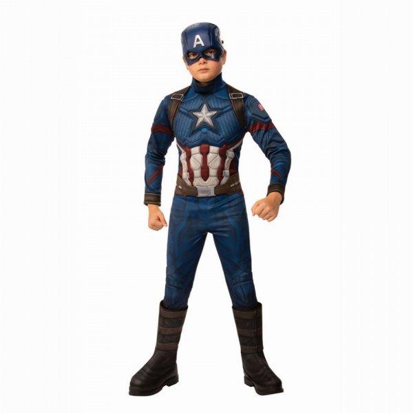 Αποκριάτικη Στολή Marvel Captain America Deluxe