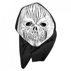 Αποκριάτικη Μάσκα Latex Νεκροκεφαλή