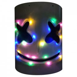 Αποκριάτικη Μάσκα Φωτιζόμενη DJ
